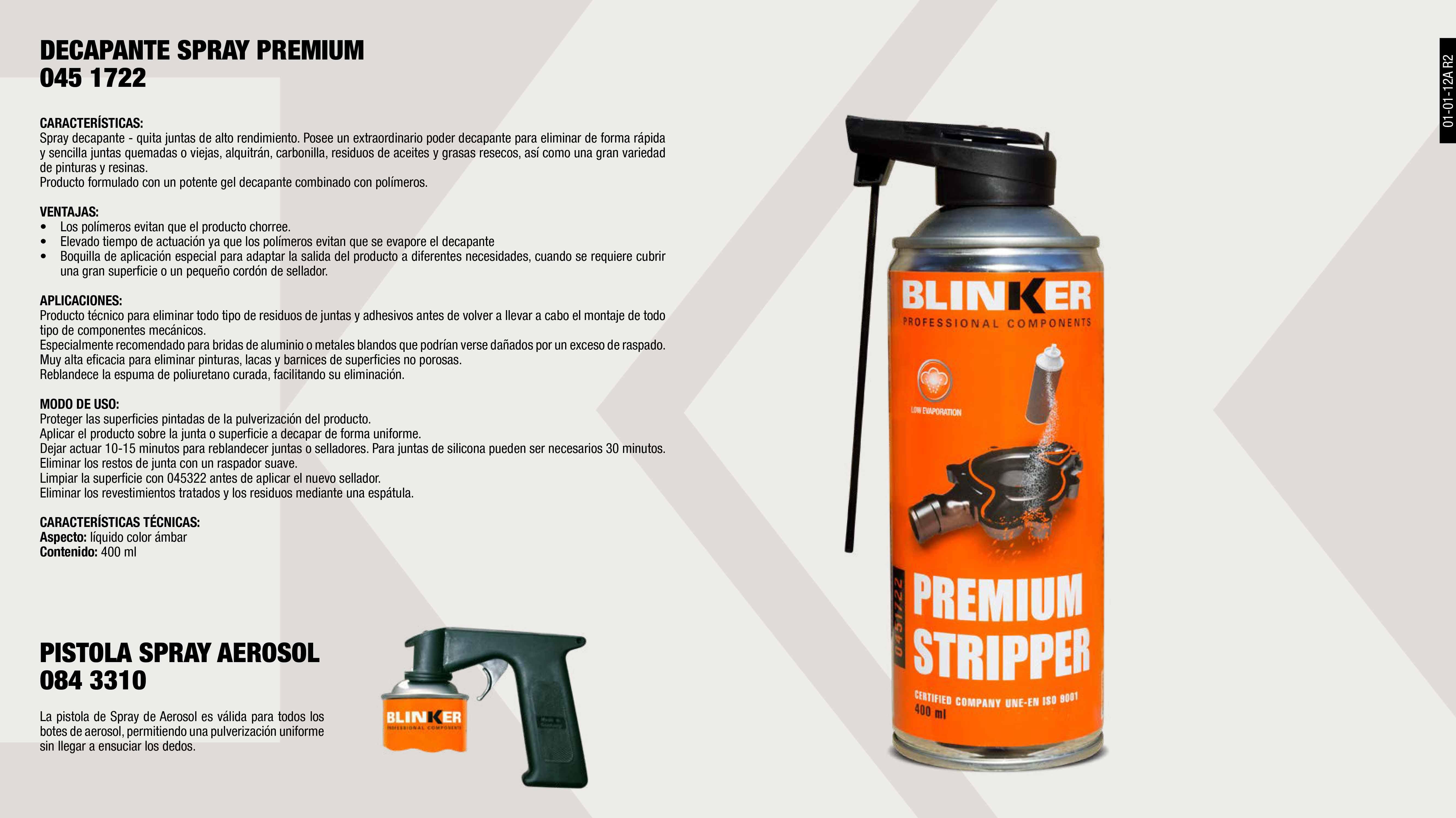 QUITA JUNTAS BLINKER 300ML.                                 ,