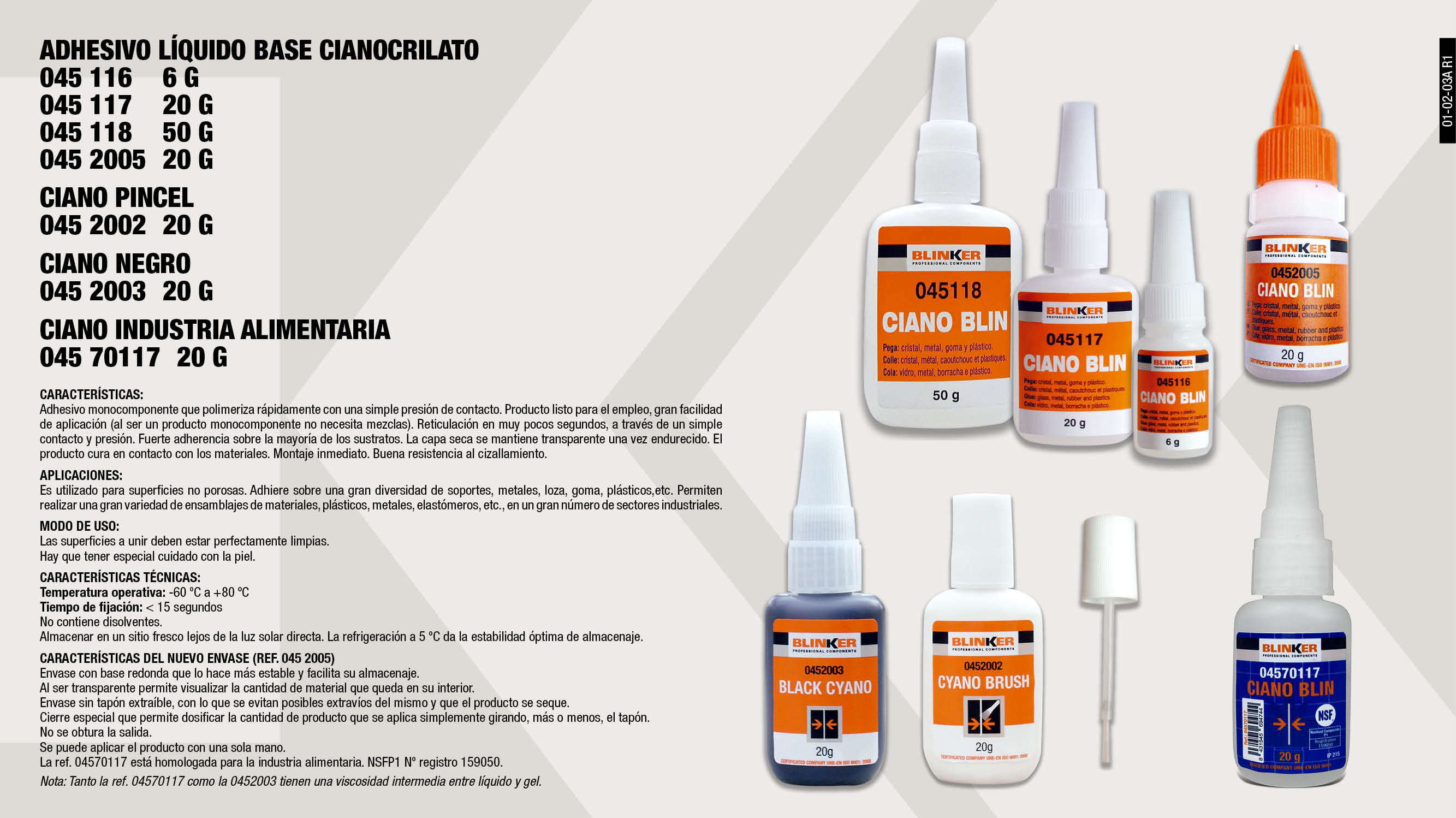 d67af315b33 Químicos  Adhesivos y Pegamentos - Blinker