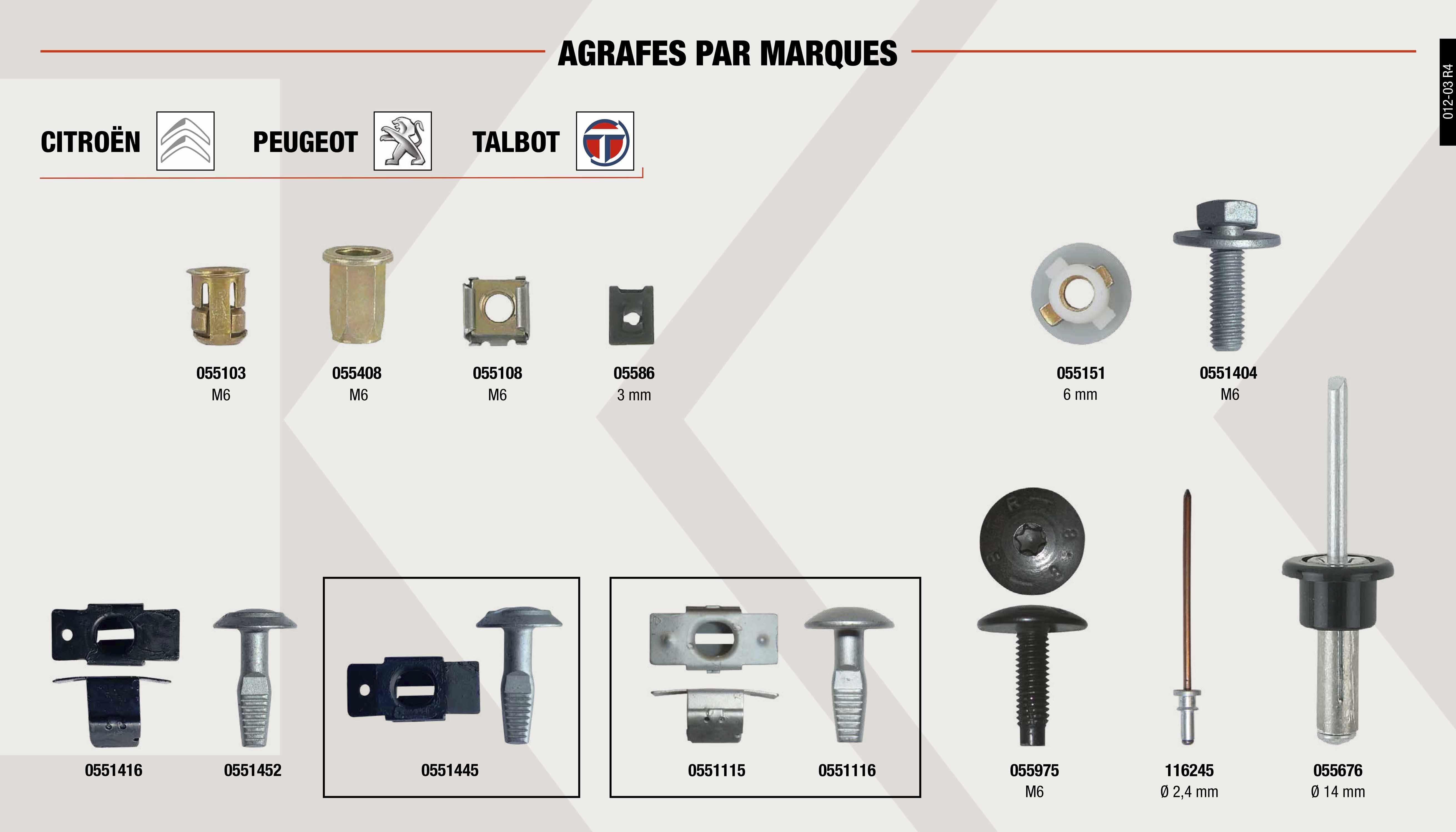 QuickRelease-Sécurité Verrouillage 3//8 76 mm Acier volonté 427qr renouvellements