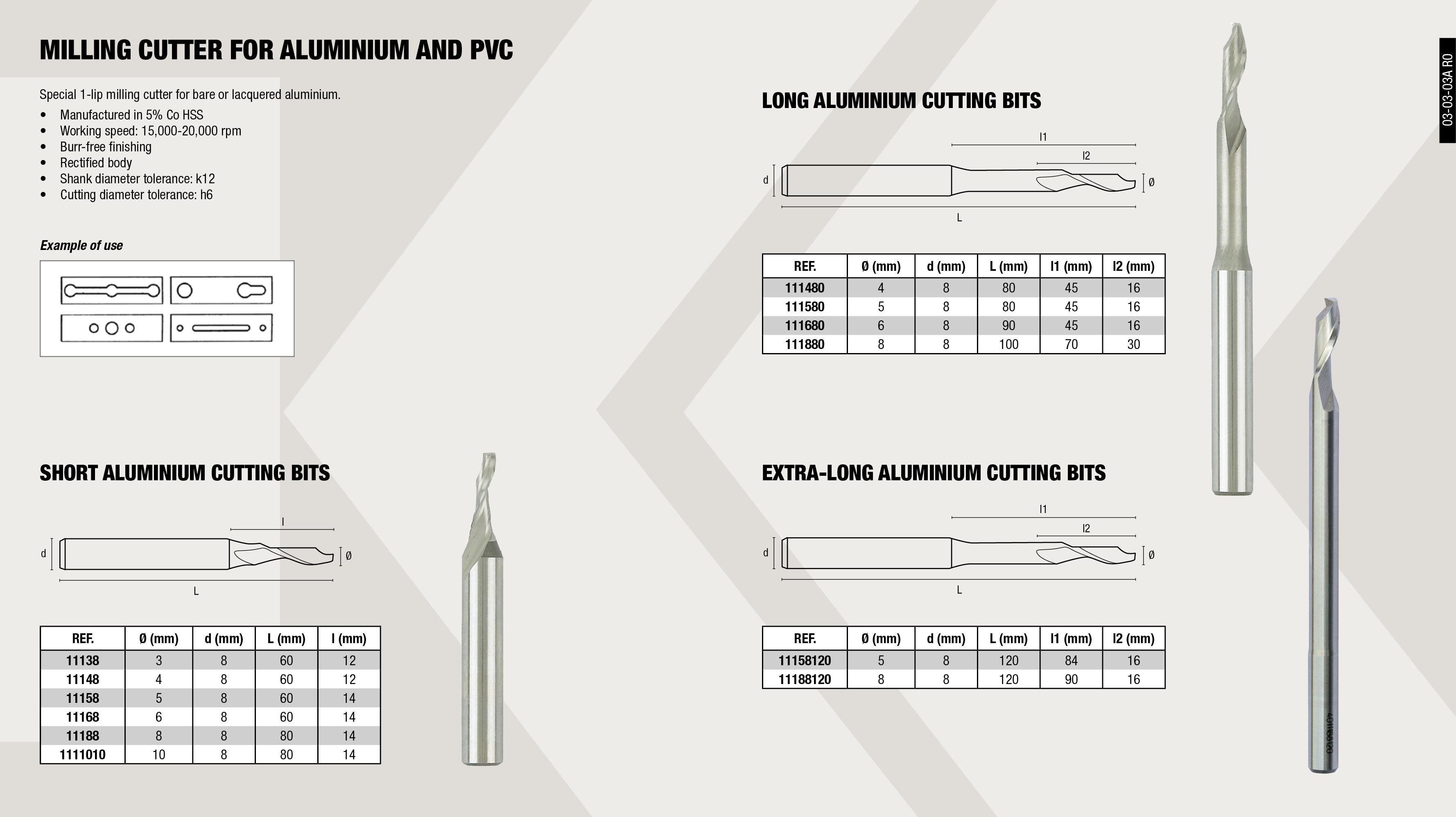 COUNTERSINK CUTTER SET DIN 335                              ,  SPECIAL TAP SET                                             ,  COMBI DRILL TAP BIT ASSORT 3-10MM                           ,  ROTARY BURR ASSORT (100.90-100.95-100.98)                   ,
